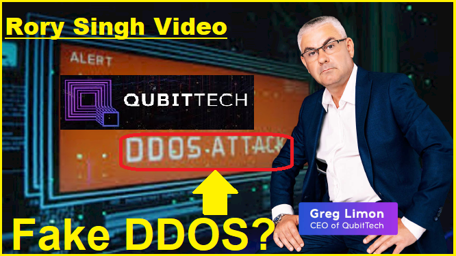 Qubittech DDOS Attack Warning and Merger