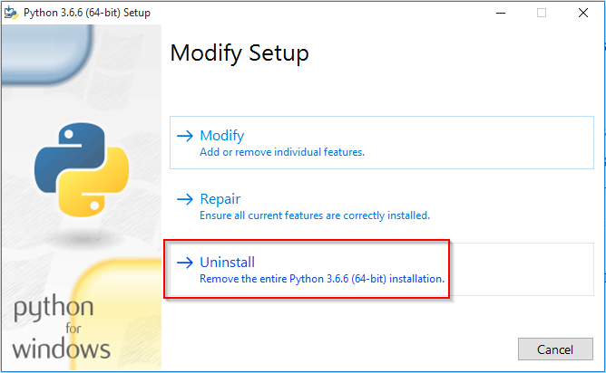 My story about Uninstalling python 3 7 — Pip Uninstall Python -lol -stop