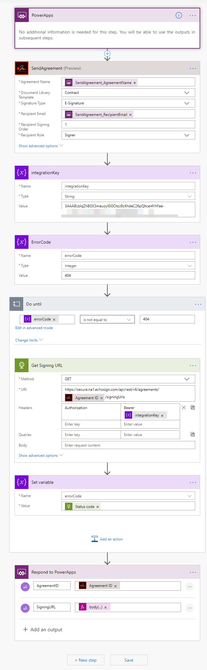 Creating Microsoft PowerApps with Adobe Sign - Adobe Tech