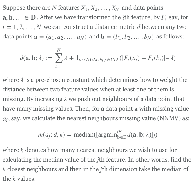 Overcoming Missing Values In A Random Forest Classifier