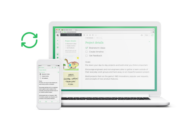 Sign up for Evernote Today