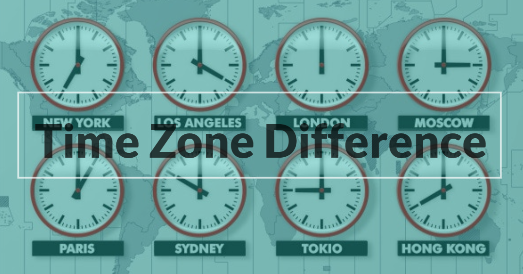 Time Zones and Languages Difference with software development company