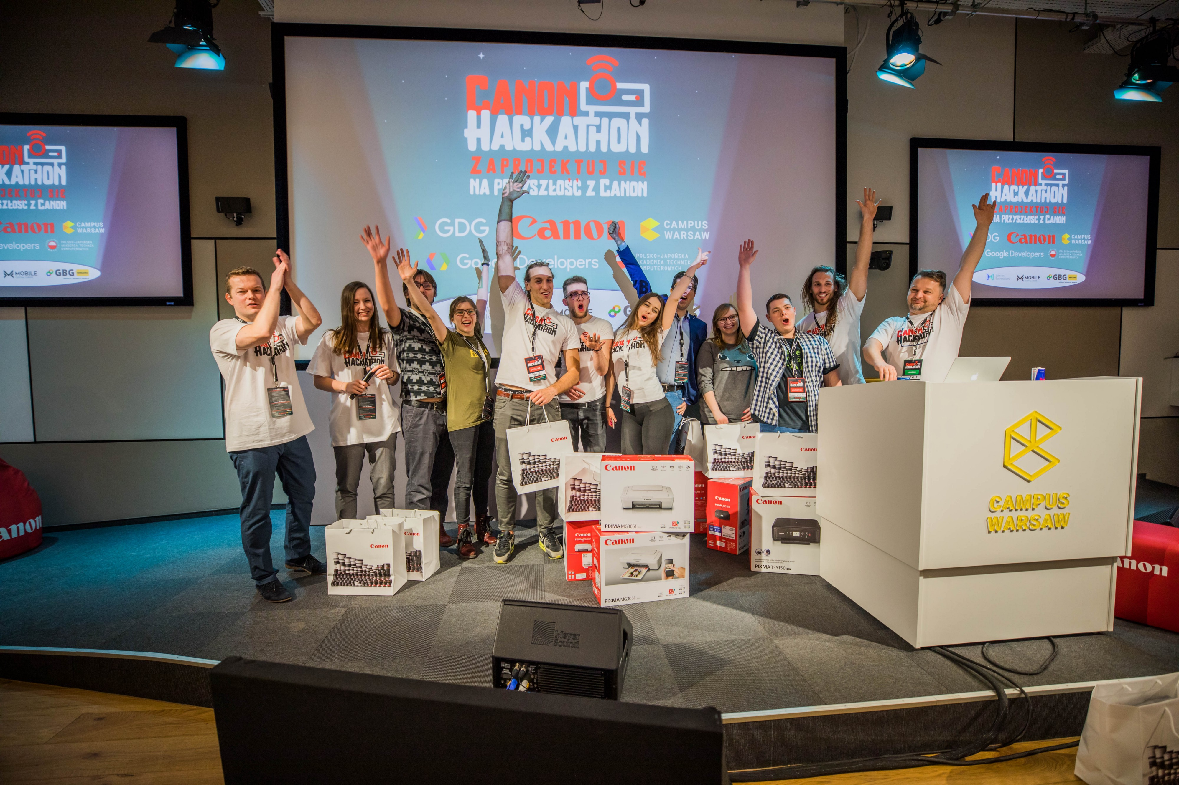 CanonHackathon: How to hack projectors and give them a new