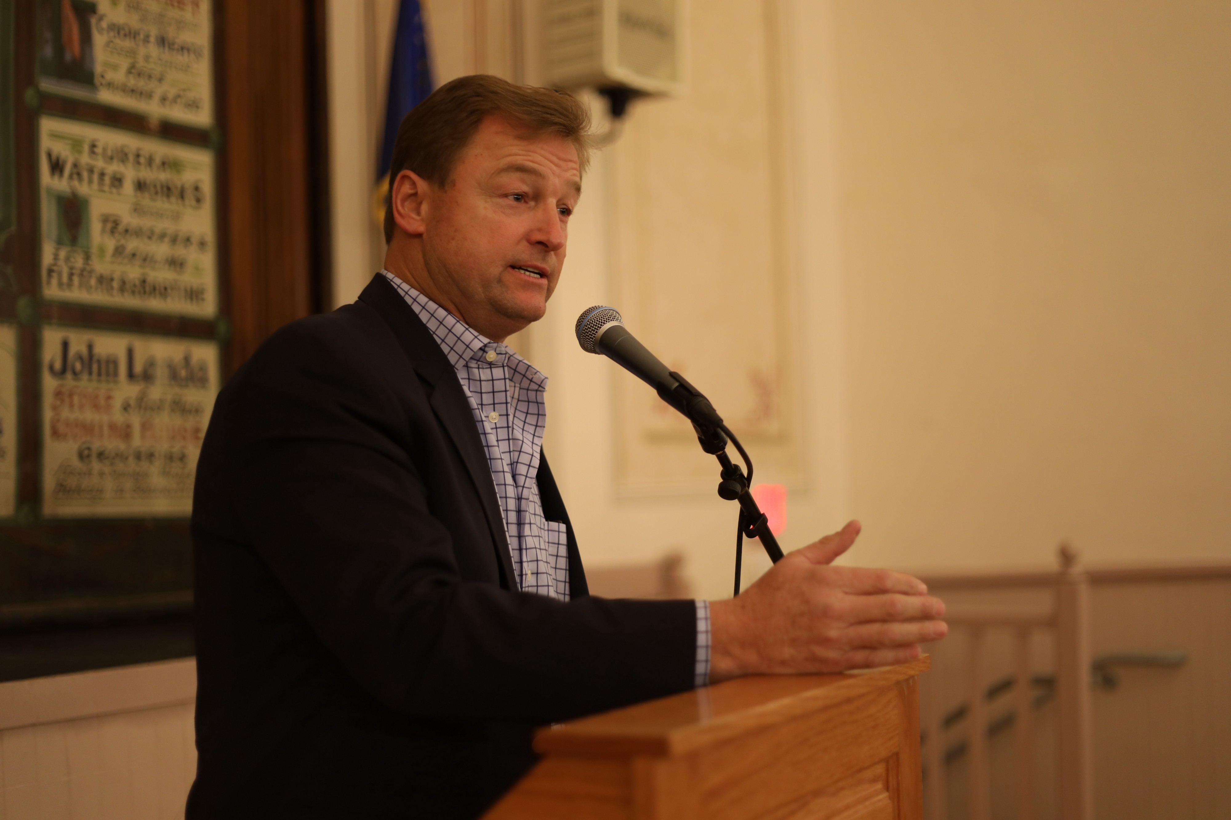 It's Not The First Time — Dean Heller Urges Senate To Work
