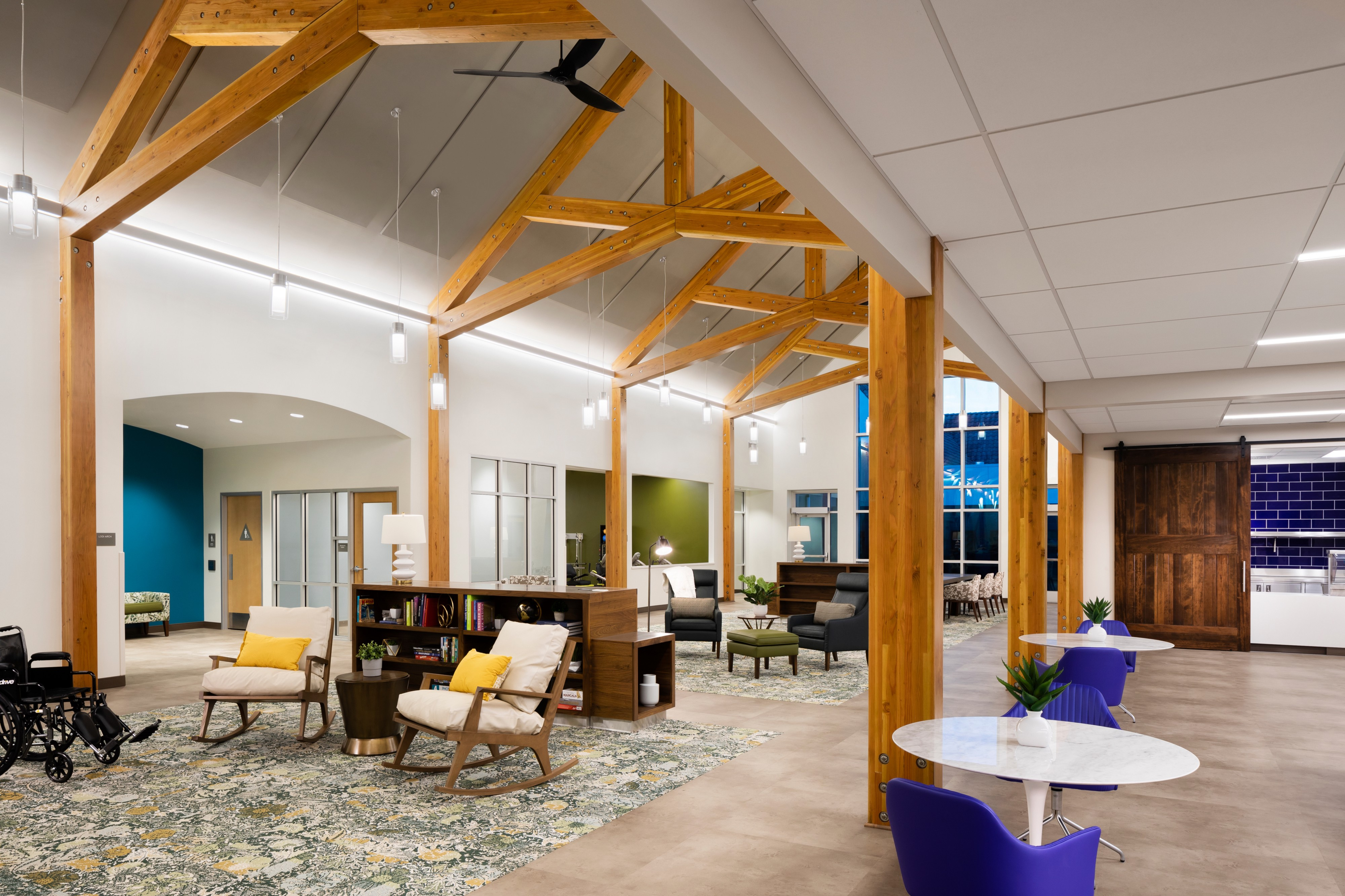 The interior of one of WelbeHealth's PACE day centers
