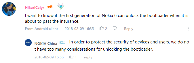 Proofs that You-Know-What are unwilling to release bootloader unlock
