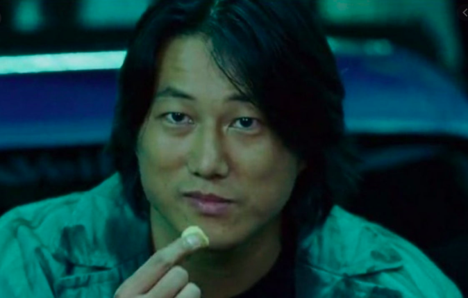 "Still of actor Sung Kang portraying Han Lue in ""Tokyo Drift"""