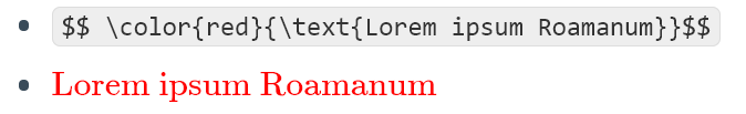 Use \text{} to show white spaces in LaTeX in Roam