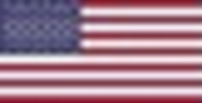 A very low res American flag