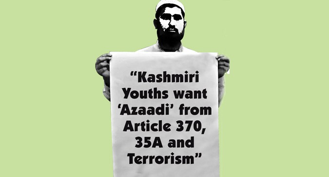 Youth in Kashmir want freedom from Article 370