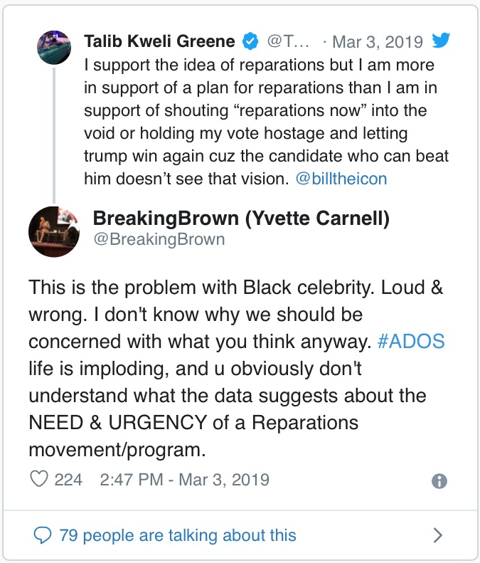 why ados is trash receipts attached   talib kweli greene   medium i was taken aback when i received such a vile personal attack on my  character and my lifes work from what seemed at first glance to be a  pro black black