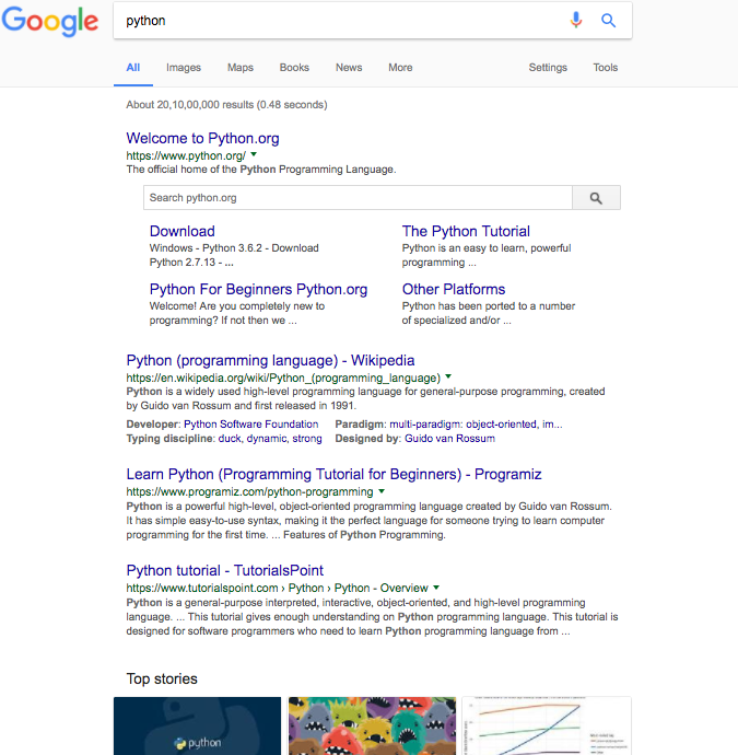 Tried and Tested Searching Strategies for Google Search Engine