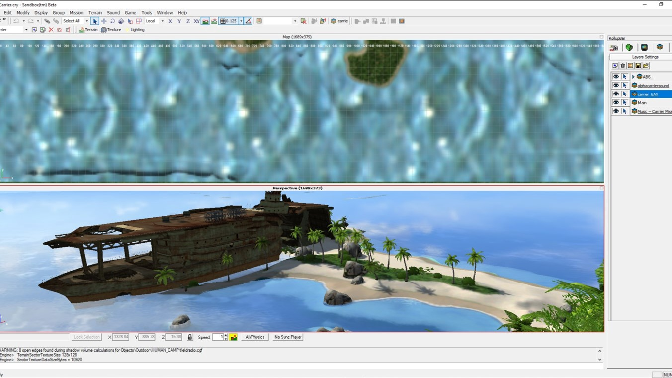 Making Of Sandox The Cryengine Game Editor By Codemotion Medium