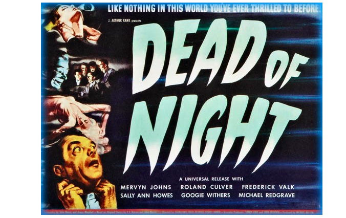 Poster for Dead of Night, 1945 English horror anthology film