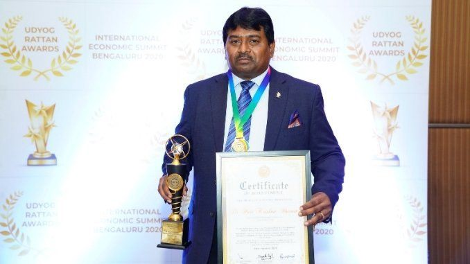 Dr Hari Krishna Maram  nominated as Global Advisory Board Member (Education Sector) of MSME Chamber of Commerce and Industry of India - Digpu News