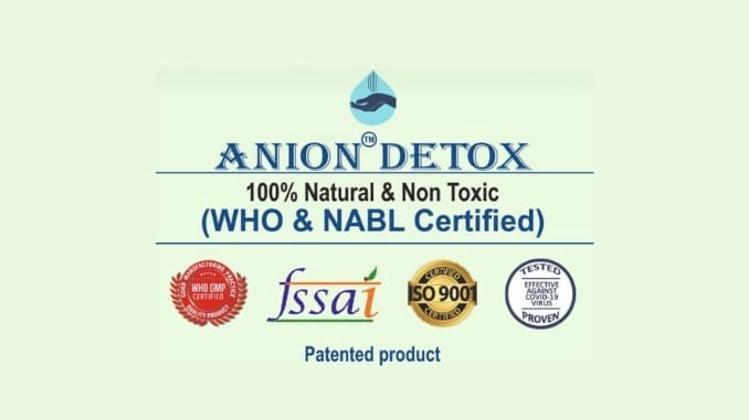 Preventing COVID-19 is simple with Anion Detox - Health News Digpu