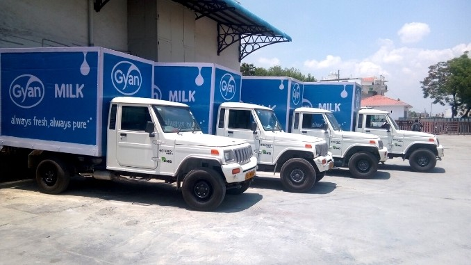 Gyan Dairy, the most preferred fresh milk and dairy products brand in UP