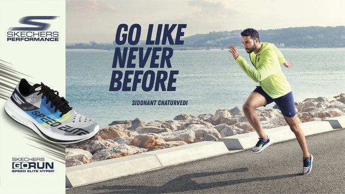Skechers India features first brand ambassador Siddhant Chaturvedi in 'Go Like Never Before' campaign launch