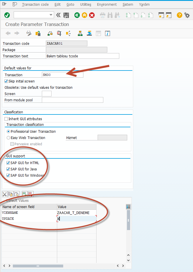 SAP Create Maintenance Table and Transaction Code Step by Step