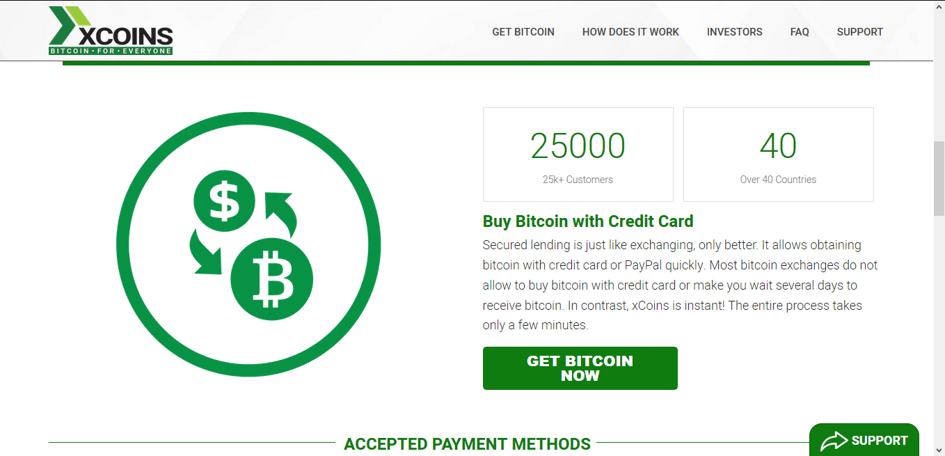 Buy and sell bitcoin payal with XCoins