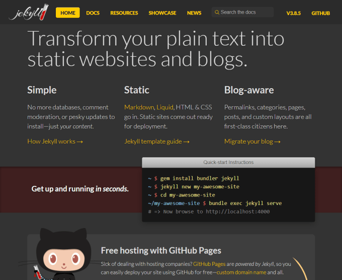 15 Clean and Simple Open-Source Blogging Platforms for Your