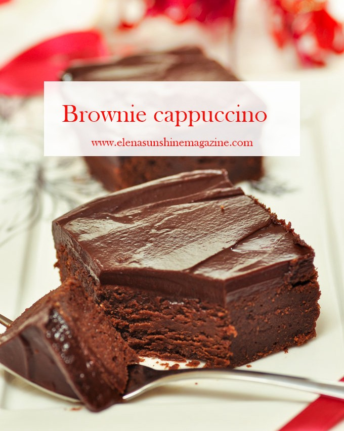 Brownie cappuccino
