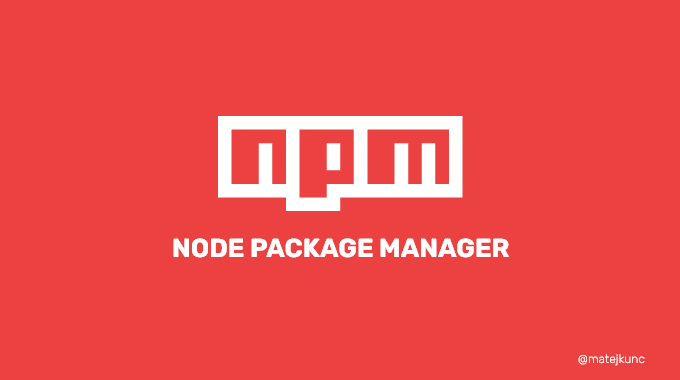 NPM-node package manager