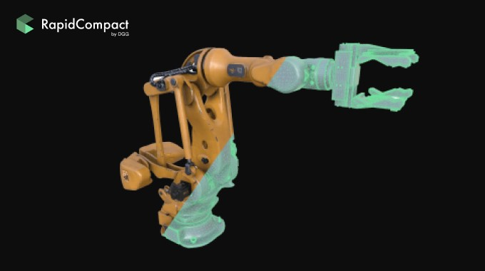 3D scene optimization—RapidCompact by Darmstadt Graphics Group