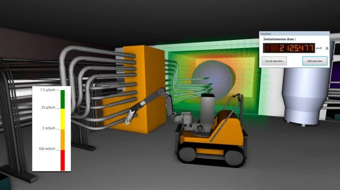 A collaborative real-time 3D simulation software for nuclear facilities—DEMplus® for nuclear