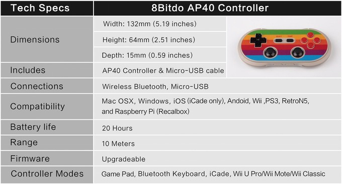 The AP40 Is an Apple II-Inspired Gaming Controller