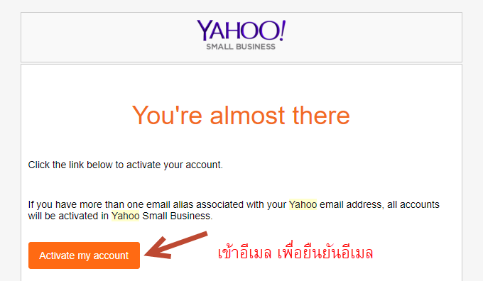 สมัคร Yahoo small business สำหรับ Yoonla - Mr Prakasit