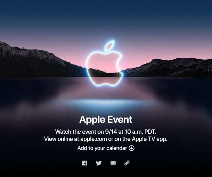 Apple presentation will take place on September 14