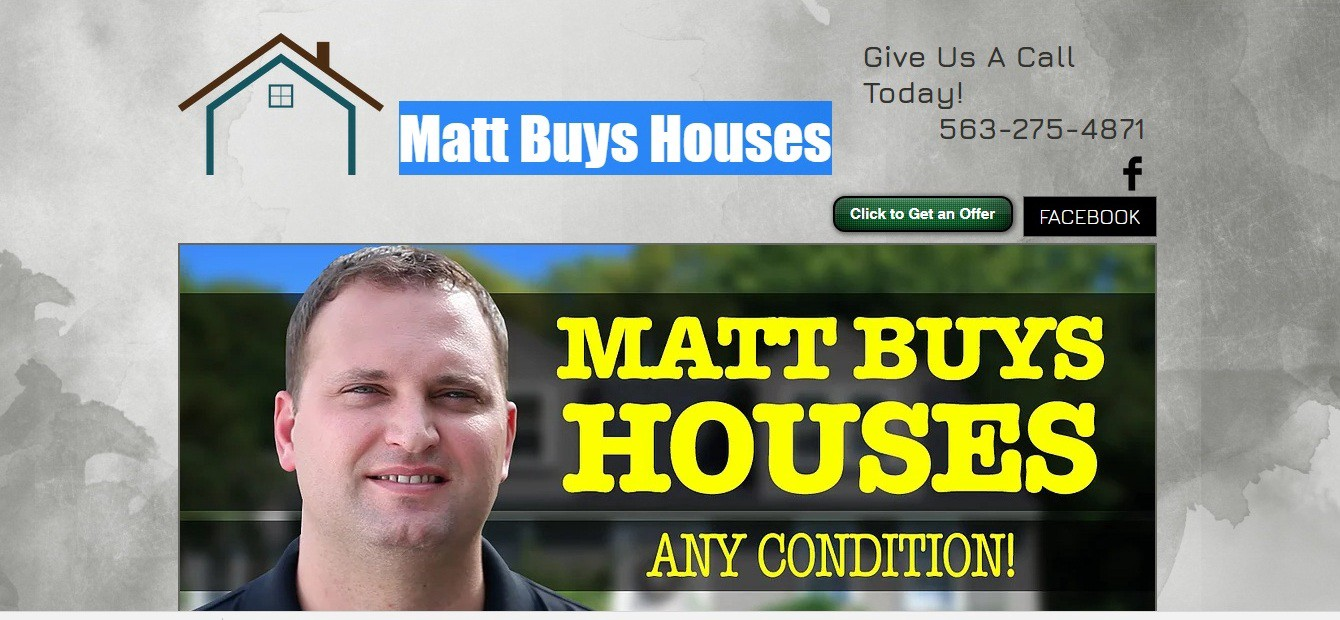 Quad City Buy And Sell >> Matt Buys Houses Any Condition Easy Street Property