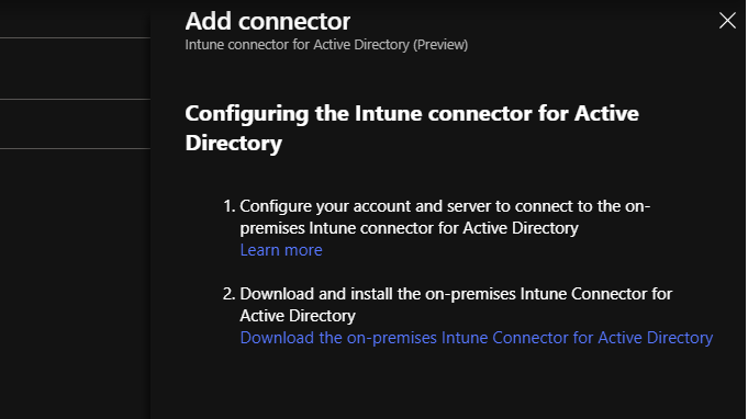 Setup the Intune Connector for Active Directory - Nathan Blasac