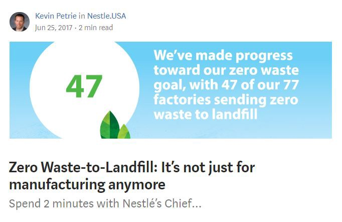 Here's More Proof that at Nestlé #WeAreStillIn - Nestle USA