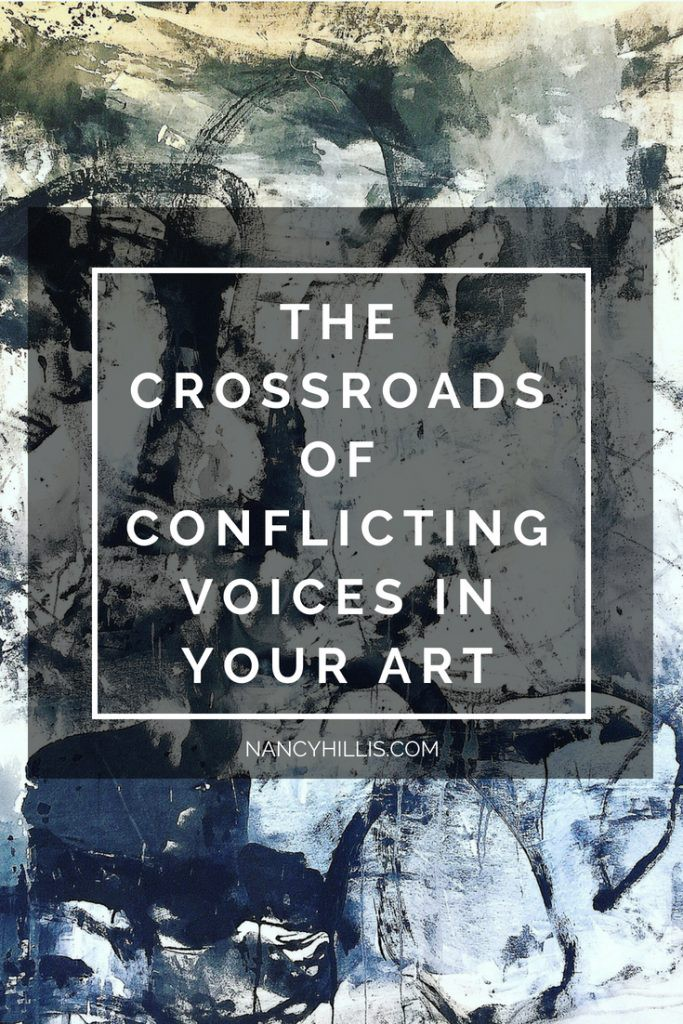 Conflicting Voices In Your Art