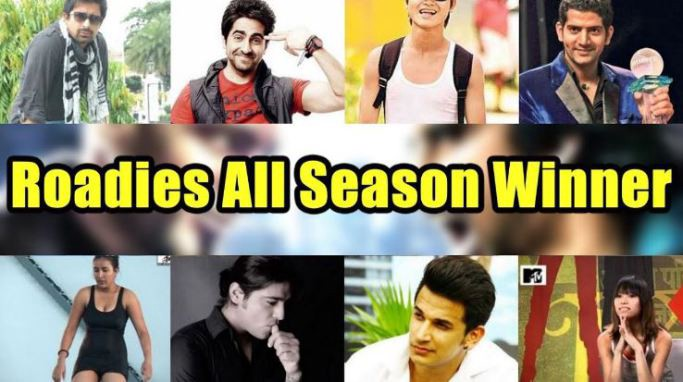 MTV Roadies Winners List of All Seasons With Pictures