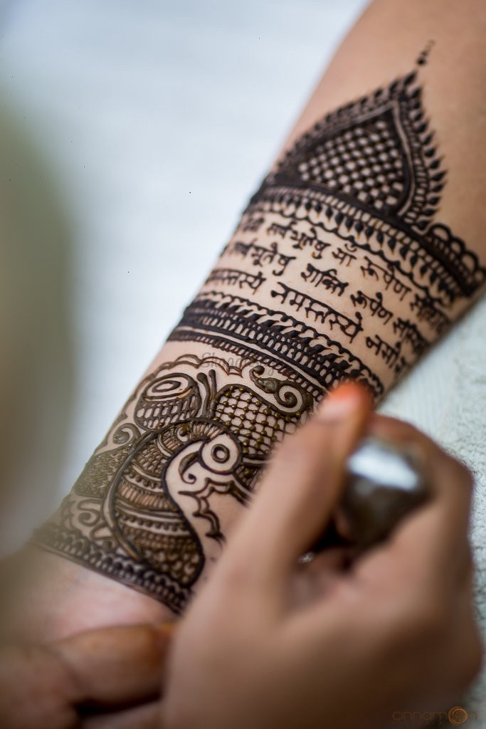 mehndi design bridal simple