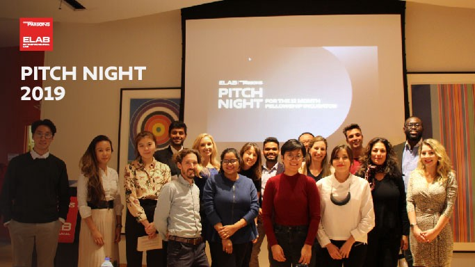 Elab 2019 Incubators Fellows at Pitch Night
