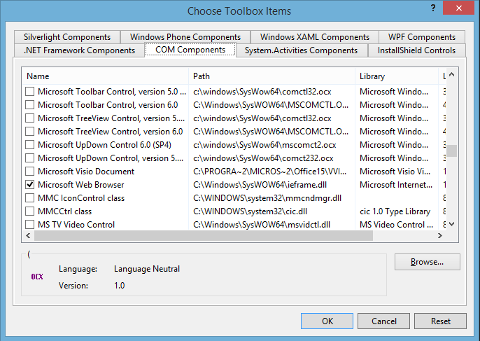 Handling New Window in AxWebBrowser in VB NET - Code|Beta Blog