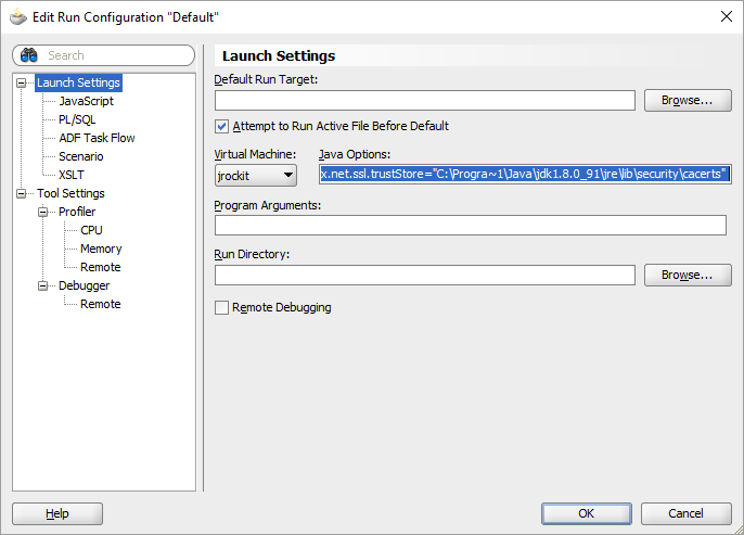 Run your PaaS application locally while calling Oracle SaaS