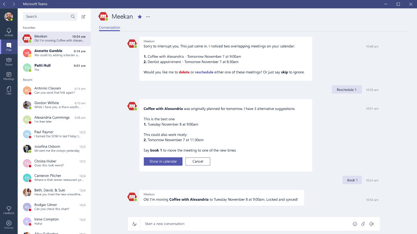bots for microsoft teams