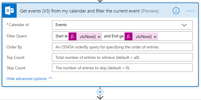 Manage your contacts during events with Microsoft Flow