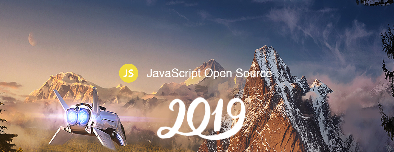 48 Amazing JavaScript Open Source for the Past Year (v 2019)