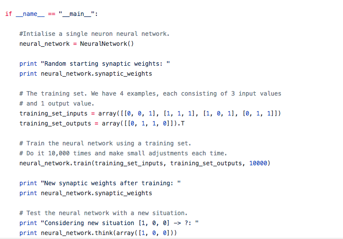 How to build your first neural network with Python - Udacity