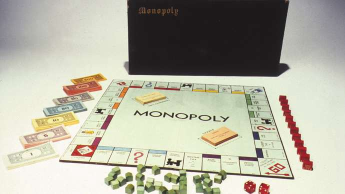 A 1935 edition of Monopoly. Britannica.