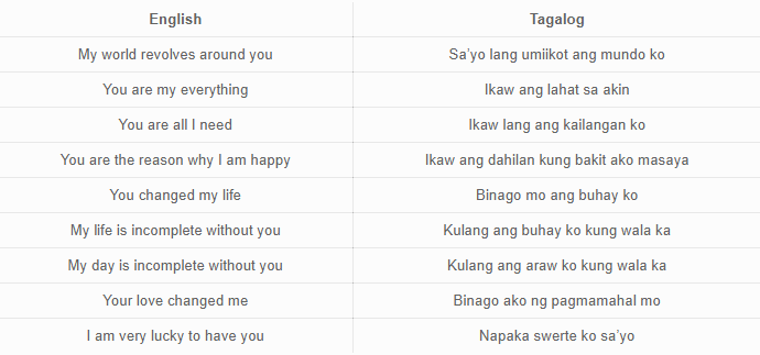 Message sweet for boyfriend tagalog His long