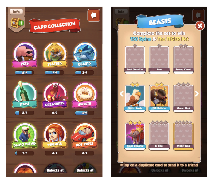 Coin Master Best Villages For Cards
