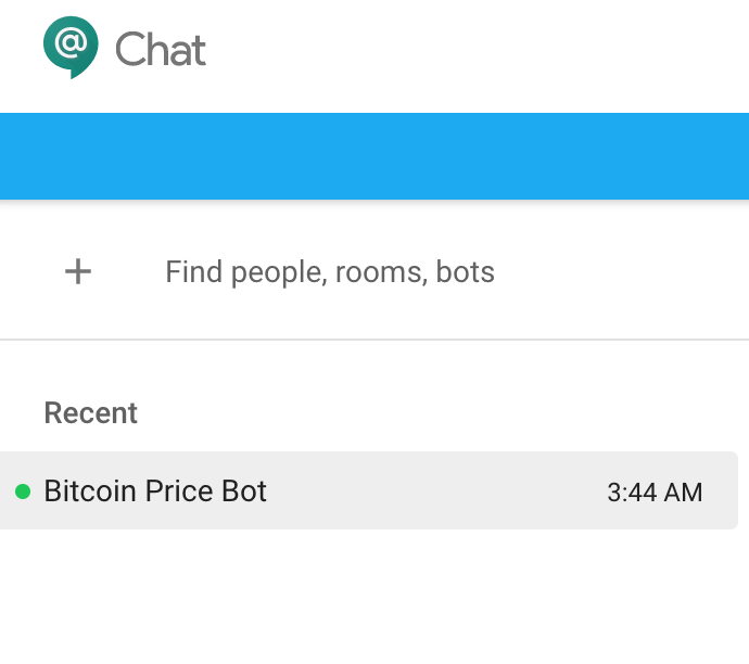 Tutorial : Write a Hangouts Chatbot powered by Google Cloud