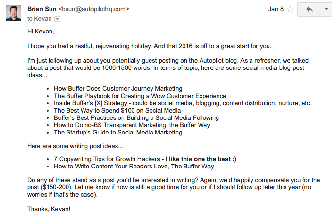 Copy These Emails to Land Top-Notch Guest Bloggers (Like
